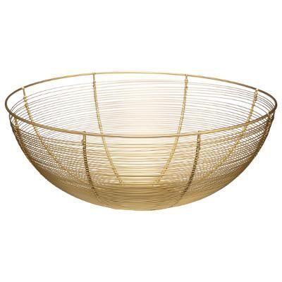 Contempo Gold Basket 32 cm