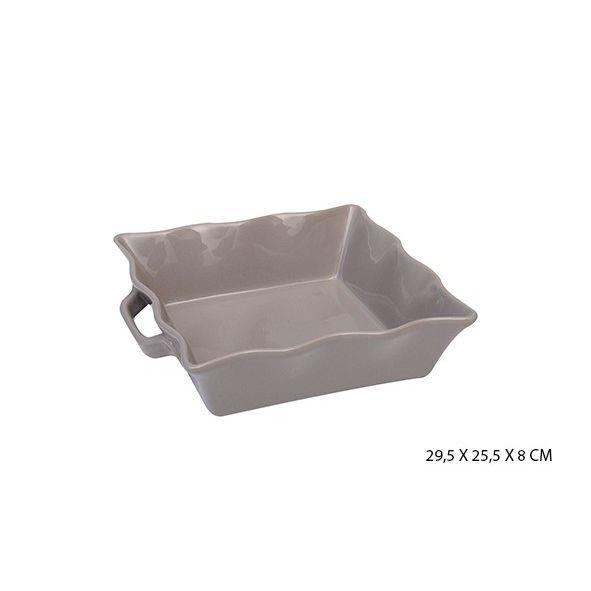 Fuente gres cuadr. ola l gris