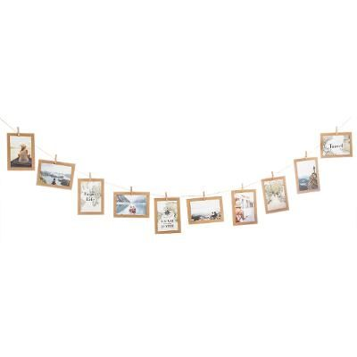 Rope Photo Frame Loft