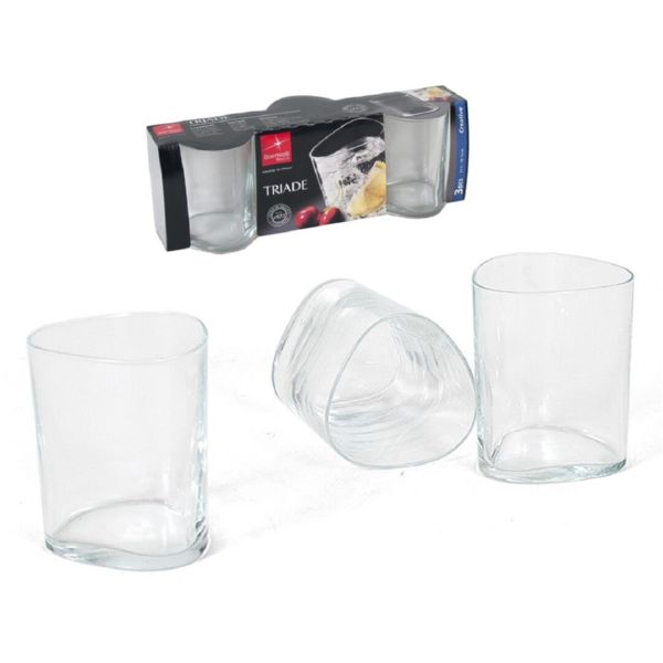 SET 3 VASOS 31 CL TRIADE