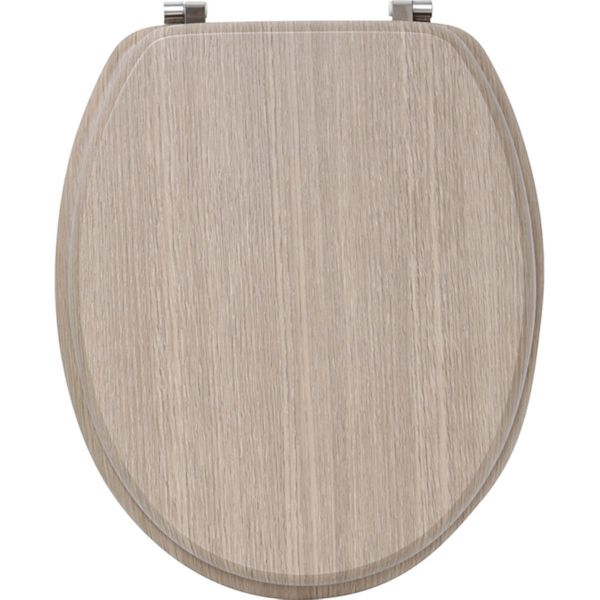 TAPA WC MDF - ROBLE CLARO