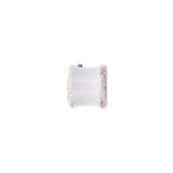 Terminales bouchon d20 x2 - blanco/oro
