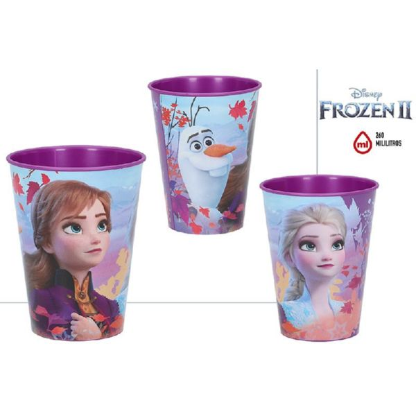 Vaso Easy Plastico 260 Ml - Frozen