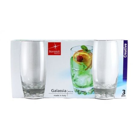 Vaso galassia refresco 41 cl x 3